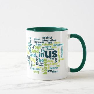 The Lord's Prayer Cloud Mug
