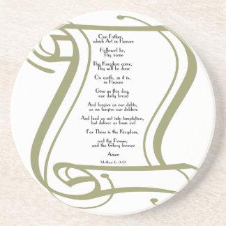 The Lords Prayer Coaster