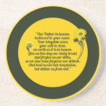 The Lords Prayer Drink Coaster