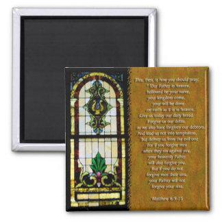 The Lord's Prayer Fridge Magnet