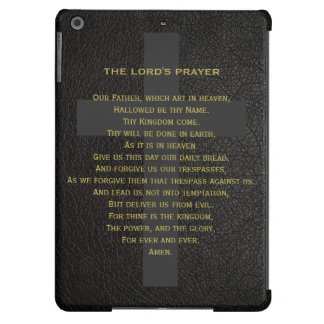The Lord's Prayer Ipad Air Case