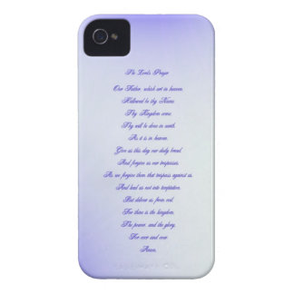 The Lord's Prayer iPhone 4 Cases