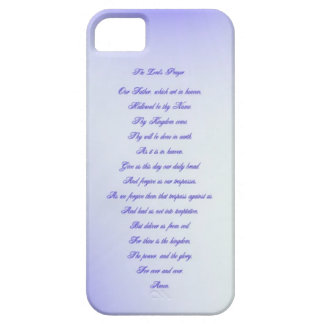 The Lord's Prayer iPhone 5 Case