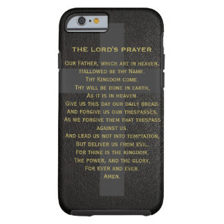 The Lord's Prayer Iphone 6 Case