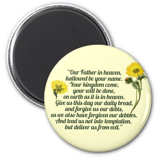 The Lords Prayer Magnet