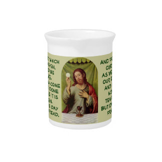 The Lord's Prayer pitcher