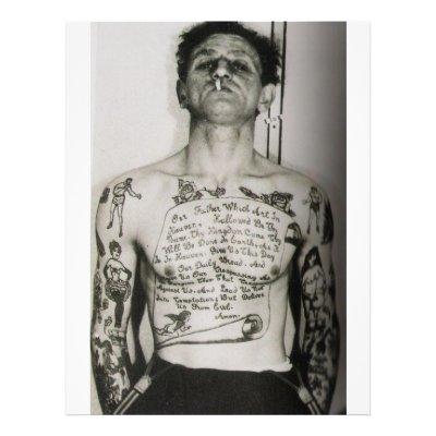 prayer tattoos. Prayer (tattooed) Flyer