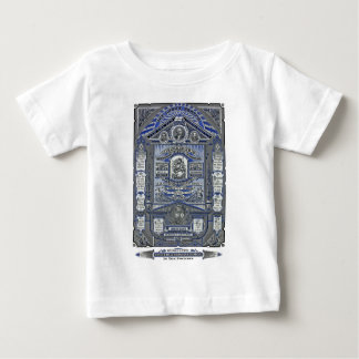 The Lord's Prayer vintage engraving Baby T-Shirt