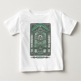 The Lord's Prayer vintage engraving (Green) Baby T-Shirt