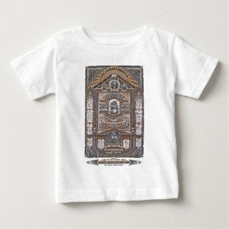 The Lord's Prayer vintage engraving (ORANGE) Baby T-Shirt