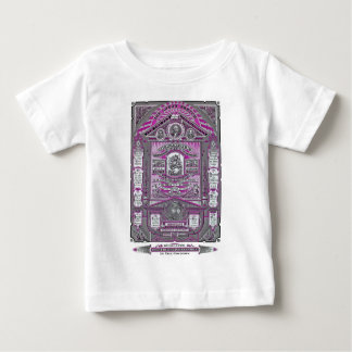 The Lord's Prayer vintage engraving (Pink) Baby T-Shirt