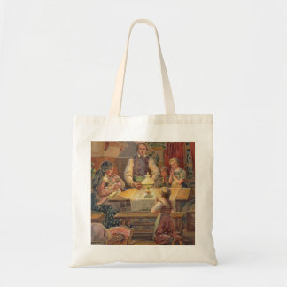 The Lord's Prayer Vintage Inspired Tote Bag