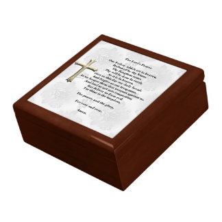 The Lord's Prayer (white) Jewelry Box