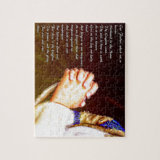 The Lords Praying Hands Jigsaw Puzzle