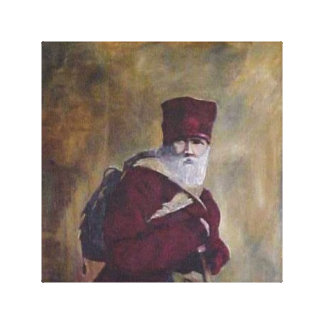 The Lord's Traveler. Canvas Print