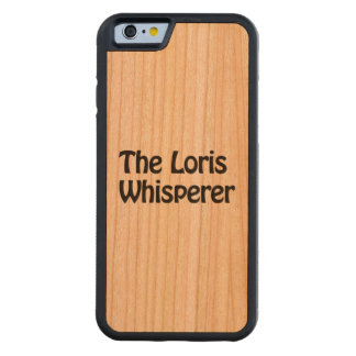 the loris whisperer carved® cherry iPhone 6 bumper