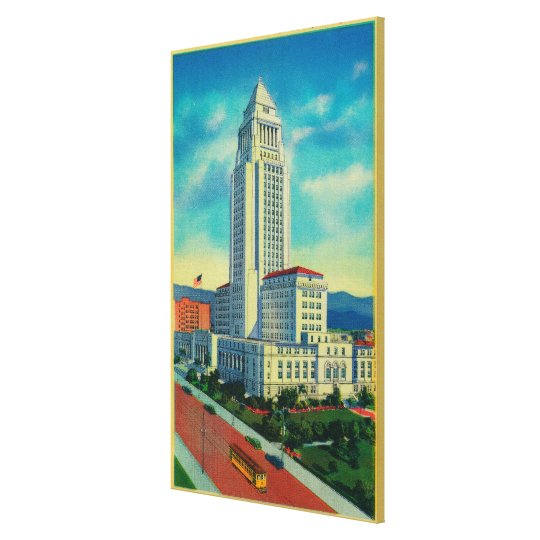 The Los Angeles City Hall Canvas Print