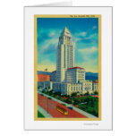 The Los Angeles City Hall Card