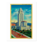 The Los Angeles City Hall Postcard