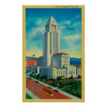 The Los Angeles City Hall Poster