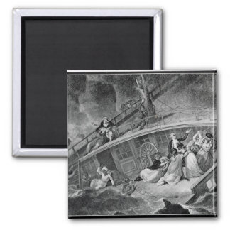 The Loss of the East Indiaman 2 Inch Square Magnet