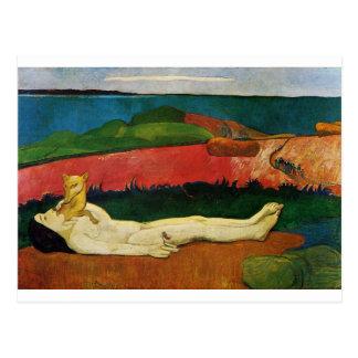 The loss of virginity (Awakening of spring) Postcard