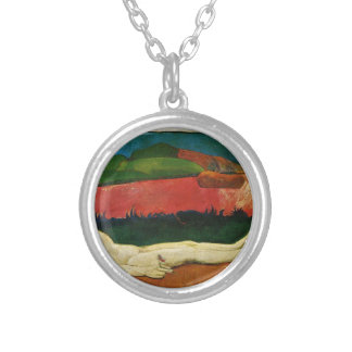 The loss of virginity (Awakening of spring) Silver Plated Necklace