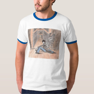 """""""The Lost Angel"""" Ringer T-Shirt"""