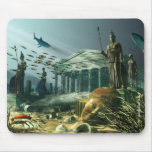 The Lost City of Atlantis Mouse Pad