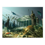 The Lost City of Atlantis Postcard
