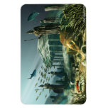 The Lost City of Atlantis Vinyl Magnet