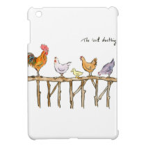 The lost duckling, chickens and duckling iPad mini cover