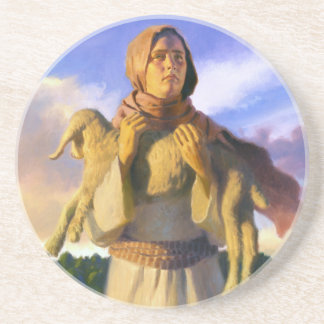 The Lost Lamb Stone Coaster