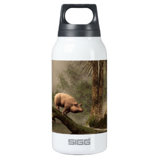 The Lost Pig Insulated Water Bottle
