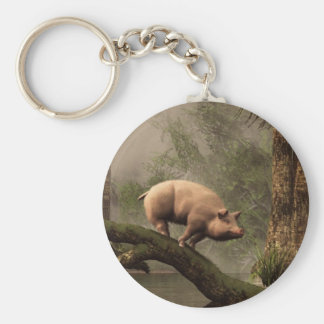 The Lost Pig Keychain