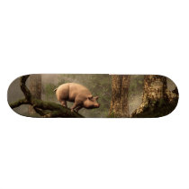 The Lost Pig Skateboard
