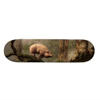 The Lost Pig Skate Board Decks