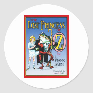 The Lost Princess Of Oz Classic Round Sticker