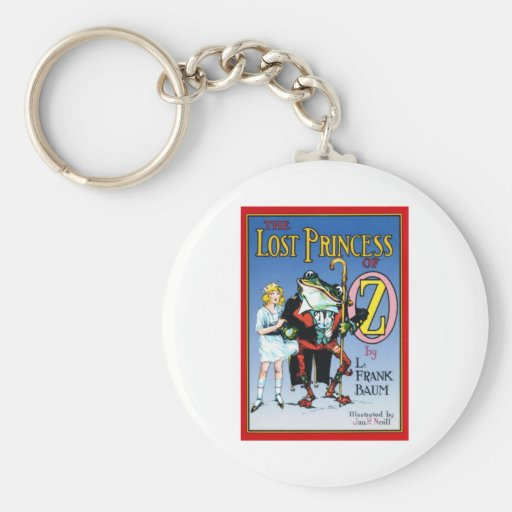 The Lost Princess Of Oz Keychains