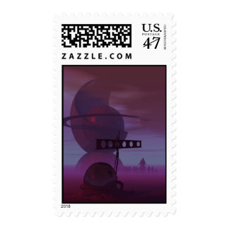The Lost Robot Makers Postage