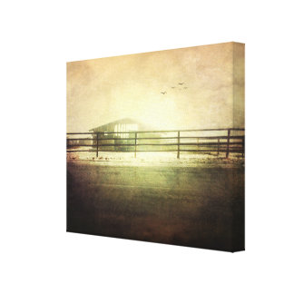 The Lost Shed Canvas Print