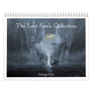 The Lost Souls Collection 2013-14 Wall Calendar