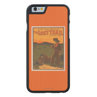 The Lost Trail - Comedy Drama Western Life Carved Maple iPhone 6 Case
