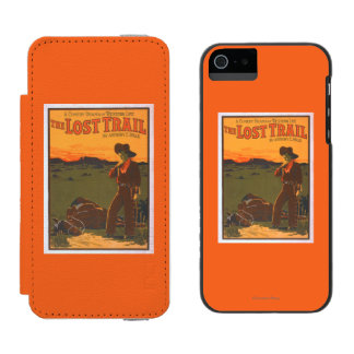 The Lost Trail - Comedy Drama Western Life Wallet Case For iPhone SE/5/5s