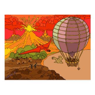 The lost world postcard