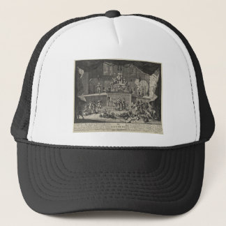 The Lottery by William Hogarth Trucker Hat