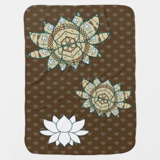 The Lotus Baby Blanket