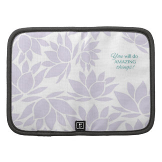 The Lotus Flower Collection - Inspirational Words Organizers