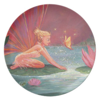 The Lotus Pond Fairy - Decorative Plate