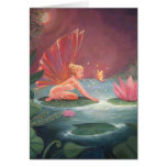 The Lotus Pond Fairy Greeting Cards